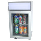 Excellence SC-22 White Countertop Display Refrigerator with Swing Door - 0.7 cu. ft.