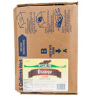 Fox's Bag In Box Orange Beverage / Soda Syrup - 5 Gallon
