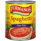 Furmano's #10 Can Home Style Spaghetti Sauce - 6/Case