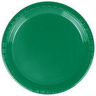 Dart Solo P65G-0099 Plastic Party Plate Green 6 inch - 1000/Case