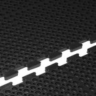 Cactus Mat 4420-CE VIP Duralok 3' x 5' Black End Interlocking Anti-Fatigue Anti-Slip Floor Mat - 3/4 inch Thick