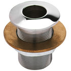 T&S BL-9005-01 Flush Plate Assembly with Lock Nut and Washer - Crowned Top