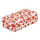 5 1/2 inch x 2 3/4 inch x 1 3/4 inch 1-Piece 1/2 lb. Leaf Candy Box - 250/Case