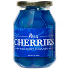 Regal 16 oz. Light Blue Maraschino Cherries with Stems