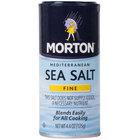 Morton 4.4 oz. Mediterranean Fine Sea Salt   - 12/Case