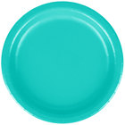 Creative Converting 324766 7 inch Teal Lagoon Paper Plate - 240/Case