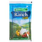 Hidden Valley 1.5 oz. Light Ranch Dressing Packet - 84/Case