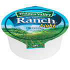Hidden Valley 1 oz. Light Ranch Dressing Cup - 160/Case