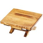 Cal-Mil 3620-5-99 Madera Reclaimed Wood Folding Riser - 10 inch x 10 inch x 5 inch