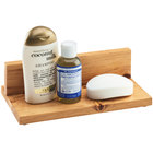 Cal-Mil 3599 Madera Reclaimed Wood Amenity Tray - 8 inch x 5 inch x 2 1/2 inch