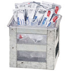 Cal-Mil 3594-6 Galvanized Metal Ice Housing - 6 inch x 7 inch x 6 inch
