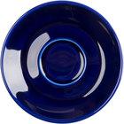 Tuxton BCE-0451 Duratux 4 5/8 inch Cobalt Cappuccino China Saucer - 36/Case