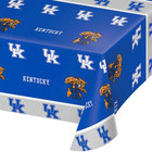 Creative Converting 324856 54 inch x 108 inch University of Kentucky Plastic Table Cover - 12/Case