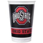 Creative Converting 318561 20 oz. Ohio State University Plastic Cup   - 96/Case