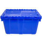 Vollrath 52648 Tote 'N Store 18 7/8 inch x 10 1/8 inch x 11 3/8 inch Blue Chafer Box