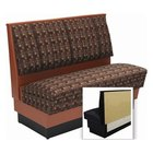 American Tables & Seating AS36-66U-Wall Alex Style Upholstered Wall Bench - 36 inch High