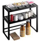 Cal-Mil 1254 Mission Two Tier Iron Hutch - 24 inch x 12 inch x 24 inch