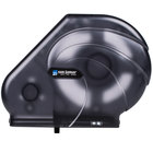 San Jamar R3090TBK Reserva Oceans 9 inch - 10 1/2 inch Jumbo Toilet Tissue Dispenser - Black Pearl
