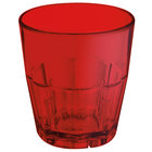 GET 9955-1-R Bahama 5.5 oz. Red Break-Resistant Plastic Tumbler - 72/Case