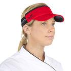 Headsweats Red Customizable CoolMax Chef Visor