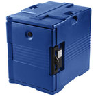 Cambro Camcarrier UPC400SP186 Navy Blue Pan Carrier with Security Package