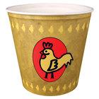 Dart Solo 10TR25-86868 10 lb. Grease Resistant Chicken Bucket - 125/Case