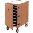Cambro 1826LTC3157 Camcart Coffee Beige Mobile Cart for 18 inch x 26 inch Sheet Pans and Trays