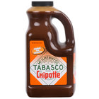 TABASCO® 64 oz. Chipotle Pepper Hot Sauce - 2/Case