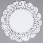 Hoffmaster 500239 12 inch Cambridge Lace Doily - 1000/Case