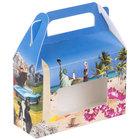 """1-Piece 1/2 lb. Landscape Window Candy Box 5 3/8"""" x 2"""" x 3 1/2""""   - 250/Case"""