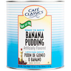 Cafe Classics Trans Fat Free Banana Pudding #10 Can - 6 / Case