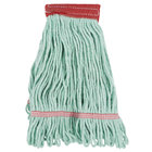 Continental Wilen A02801 J.W. Atomic Loop™ 16 oz. Small Green Blend Loop End Mop Head with 5 inch Band