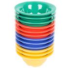 GET B-105-MIX -Diamond Mardi Gras 10 oz. Melamine Bowl, Assorted Colors - 48/Case