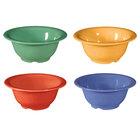 GET B-105-MIX -Diamond Mardi Gras 10 oz. Melamine Bowl, Assorted Colors - 48 / Case