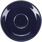 Homer Laughlin HL470105 Fiesta Cobalt Blue 5 7/8 inch China Saucer - 12/Case
