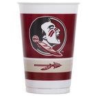 Creative Converting 019833 20 oz. Florida State University Plastic Cup - 96/Case