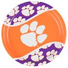 Creative Converting 424831 9 inch Clemson University Paper Plate - 96/Case