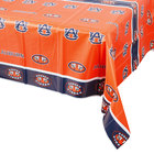 Creative Converting 724830 54 inch x 108 inch Auburn University Plastic Table Cover - 12/Case