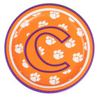 Creative Converting 414831 7 inch Clemson University Paper Plate - 96/Case