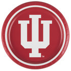 Creative Converting 424924 9 inch Indiana University Paper Plate - 96/Case