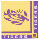 Creative Converting 650838 Louisiana State University 2-Ply Beverage Napkin - 240/Case