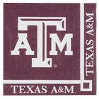 Creative Converting 654848 Texas A&M University 2-Ply Beverage Napkin - 240/Case