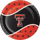 Creative Converting 424891 9 inch Texas Tech University Paper Plate - 96/Case