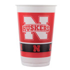 Creative Converting 379853 20 oz. University of Nebraska Plastic Cup - 96/Case