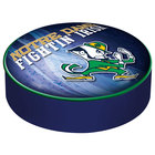 Holland Bar Stool BSCND-Lep-D2 14 1/2 inch University of Notre Dame Vinyl Bar Stool Seat Cover