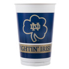 Creative Converting 333081 20 oz. Notre Dame Plastic Cup - 96/Case