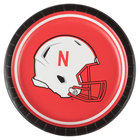 Creative Converting 419853 7 inch University of Nebraska Paper Plate - 96/Case