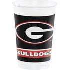 Creative Converting 336373 20 oz. University of Georgia Plastic Cup - 96/Case