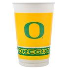 Creative Converting 379907 20 oz. University of Oregon Plastic Cup - 96/Case