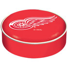 Holland Bar Stool BSCDetRed 14 1/2 inch Detroit Red Wings Vinyl Bar Stool Seat Cover
